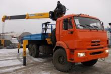 КАМАЗ 43118-13090-46 с КМУ SOOSAN SCS736