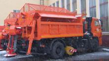 Комбинированная дорожная машина ЭД244КМ