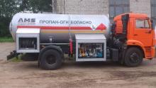 Газовоз на шасси КАМАЗ 43253